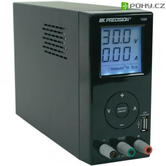 Laboratorní síťový zdroj BK Precision BK-1550, 1 - 36 VDC, 0 - 3 A - Kliknutím na obrázek zavřete