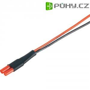 Napájecí kabel Modelcraft, 2 mm konektor zásuvka/zástrčka, 300 mm, 1,5 mm²