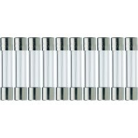 Jemná pojistka ESKA rychlá 525612, 250 V, 0,315 A, skleněná trubice, 5 mm x 25 mm, 10 ks