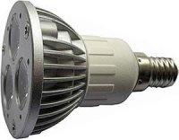 Žárovka LED E14 JDR-3x1W,bílá,230V, DOPRODEJ