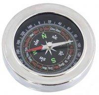 Nerezový kompas kulatý