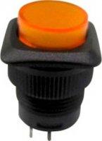 Tlačítkový spínač R13-508BL-05 žlutý