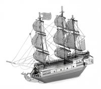 3D metallic puzzle Pirátská loď