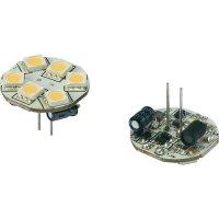 LED žárovka Renkforce, G4, 1,2 W, 30 V, 23 mm, teplá bílá