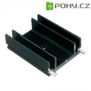 Prolisovaný chladič s piny pro TO 220 Assmann WSW V6560W, 25 x 29 x 12 mm, 9 K/W