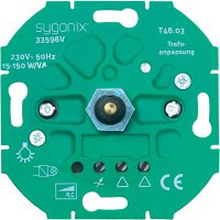 Stmívač série SX.11 pro LED lampy Sygonix, 33594R, 15 - 150 W