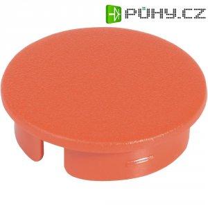 Krytka na otočný knoflík s ukazatelem OKW, pro knoflíky Ø 23 mm, červená
