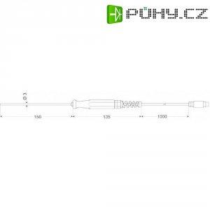 Zapichovací snímač pro měkká plastická média, 4vodič, Greisinger GES 401 /1/3DIN,