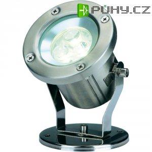 Zahradní reflektor SLV Nautilus LED 304 B, bílá