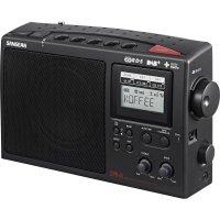 DAB+ rádio Sangean DPR-45, FM/AM, černá