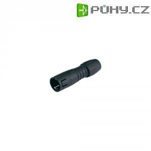 Kulatý konektor submin. Binder 620 (99-9213-00-05), 5pól., kab. zástrčka, 0,25 mm², 3-5 mm
