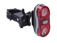 Svítilna na kolo 2x LED, na 2x AAA, zadní
