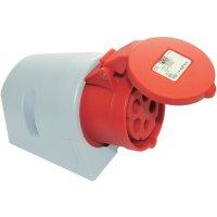 CEE zásuvka PCE, IP44, 16 A, červená