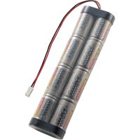 Akupack vysílače NiMH (modelářství) 9.6 V 2400 mAh Conrad energy Stick Futaba