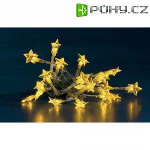 Vánoční řetěz s 20 LED hvězdiček Konstsmide, žlutá
