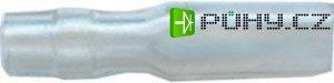 Krytka izolační na faston 2,8mm,hrdlo 1,8mm