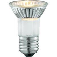 Halogenová žárovka Sygonix, 230 V, 35 W, E27, Ø 50 mm, stmívatelná, teplá bílá, 2 ks