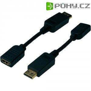 Redukce DiplayPort vidlice ⇔ HDMI zásuvka, 0,15 m, Digitus
