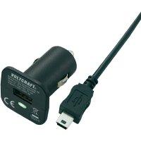 USB nabíječka do auta Voltcraft CPS-1000 + MiniUSB kabel