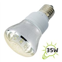 Žárovka LED REF. E27/230V (80LED-H) 4W - bílá teplá