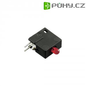 LED blok 1nás Signal Construct, DVCD10, 10 mm, červená, DVCD 10