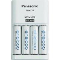 Nabíječka Panasonic MQN09, PLG-MQN09-E-4-3UTGB + 4x eneloop AA