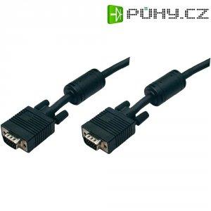 SVGA kabel k monitoru s EMI filtrem, 1,8 m, černá