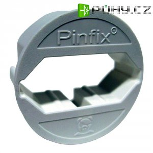 Adaptér do zásuvky Pinfix, bílá