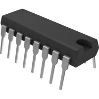 Lineární IO Intersil HIN232CP = ICL232CPE, DIP 16, RS 232 rozhraní RS232