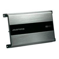 Koncový zesilovač Ampire MB-400.1, 1x500 W