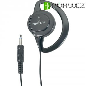 Ušní sluchátko HK-1 32 Ω, 3,5 mm Jack, 3 m kabe