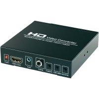 SCART+HDMI na HDMI konvertor SpeaKa Professional