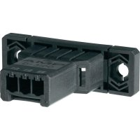 Pouzdro D-3100S TE Connectivity 1-178802-5, zástrčka vest. horiz., 250 V, 3,81 mm, černá