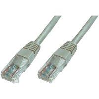 Patch kabel CAT 6 U/UTP RJ 45, vidlice ⇔ vidlice, 0,5 m, šedý
