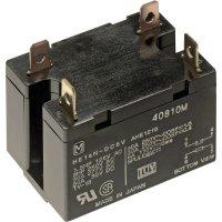 HE-relé se 6,3 mm plochým přívodním kolíkem Panasonic, HE2AN240AC, 2.6 VA, 25 A, 6,3 mm