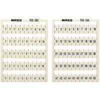 Karta pro značení Wago 794-5601, bílá