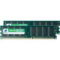 Operační paměť do PC Corsair, VS2GBKIT400C3, DDR-RAM, 400 MHz, 2x 1 GB
