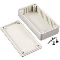 Univerzální pouzdro ABS Hammond Electronics, (d x š x v) 121 x 94 x 34 mm, šedá