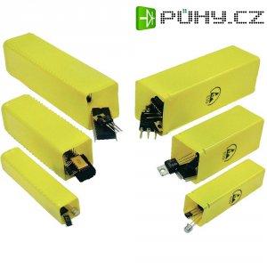 Ochranná krabička (ESD) 26 x 26, vnější díl, žlutá