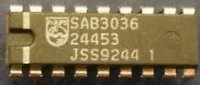 SAB3036 - interface for tuning and control, DIL18