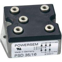Můstkový usměrňovač 3fázový POWERSEM PSD 35T-18, U(RRM) 1800 V