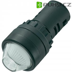 LED signálka AD16-22HS/24V/W, LED signálka, 24 V/DC / 24 V/AC, bílá