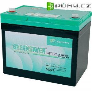 Olovo-silikon akumulátor, 12V/38 Ah, Greensaver SP38-12