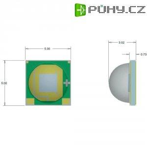 HighPower LED CREE, XMLAWT-00-0000-0000T6051, 700 mA, 2,9 V, 125 °, chladná bílá
