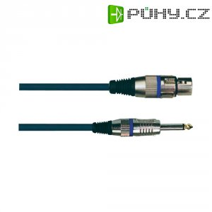 XLR kabel SP37XLF/SP19, XLR(F)/jack 6,3 mm, 10 m, černá