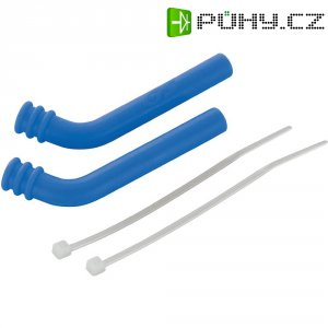 Koncovka tlumiče výfuku Reely, 5 mm, modrá, 2 ks (GS-P21BL)
