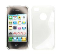 ForCell Zadní Kryt Lux S Transparent pro Apple iPhone 4/4S
