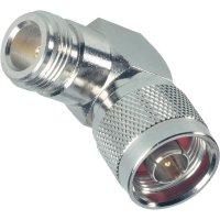 N zástrčka ⇔ N zásuvka BKL 404049, UG -27/U, adaptér úhlový, 50 Ω