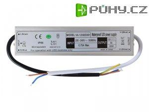 Zdroj pro LED pásky IP66, 12V/ 60W/5A