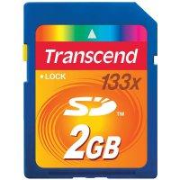 Paměťová karta SD Transcend 2 GB Class 4